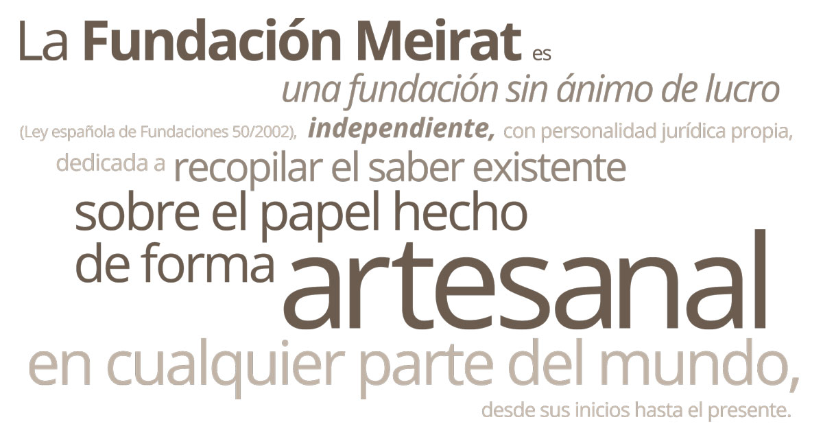 The Meirat Foundation is an independent, nonprofit organization